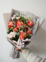 장미꽃다발